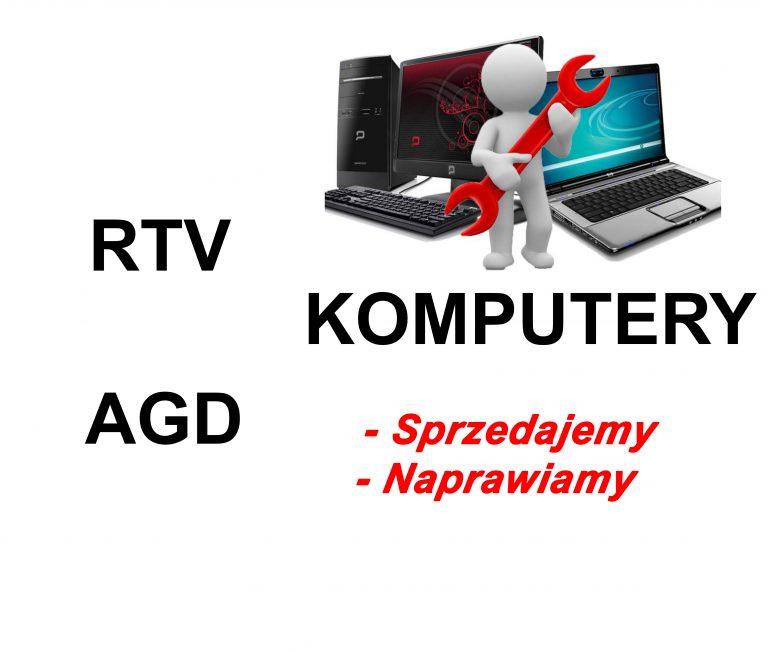 rtv agd komputery pisz naprawa sprzedaż serwis